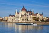 Hungarian Parliament Building, Budapest, Hungary, Europe Reproduction photographique par Doug Pearson