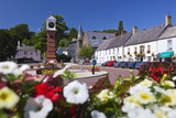 Usk Twyn Square, Usk, Monmouthshire, Wales, United Kingdom, Europe Photographic Print by Billy Stock
