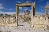 Looking Towards the Capitolium (Temple to the Three Main Gods) Stampa fotografica di Ethel Davies