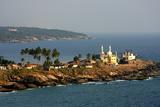 Mosque by the Seashore, Kovalam, Trivandrum, Kerala, India, Asia Impressão fotográfica por Balan Madhavan