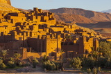 Ait Benhaddou, UNESCO World Heritage Site, Atlas Mountains, Morocco, North Africa, Africa Fotografisk tryk af Doug Pearson