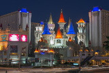 Excalibur Hotel and Casino, Las Vegas, Nevada, United States of America, North America Fotografie-Druck von Alan Copson