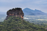 Sigiriya Rock Fortress, UNESCO World Heritage Site, Seen from Pidurangala Rock, Sri Lanka, Asia Reproduction photographique par Matthew Williams-Ellis