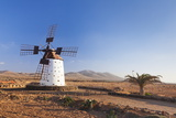 Windmill, El Cotillo, Fuerteventura, Canary Islands, Spain, Atlantic, Europe Photographic Print by Markus Lange