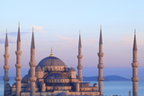 Blue Mosque (Sultan Ahmet Camii), Istanbul, Turkey Photographic Print by Neil Farrin