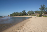 Tofo Beach, Inhambane, Mozambique, Africa Fotografisk tryk af Andy Davies