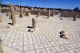 Large Baths, Roman Ruin of Sbeitla, Tunisia, North Africa, Africa Stampa fotografica di Ethel Davies