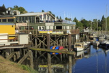 Port Side Pub in Poulsbo, Puget Sound, Washington State, United States of America, North America Reproduction photographique par Richard Cummins