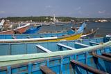 Fishing Boats, Vizhinjam, Trivandrum, Kerala, India, Asia Impressão fotográfica por Balan Madhavan