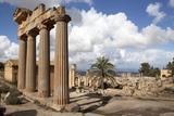 The Temple of Demeter, Cyrene, UNESCO World Heritage Site, Libya, North Africa, Africa Fotografisk tryk af Oliviero Olivieri