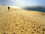 Dune De Pilat, Gironde, Aquitaine, France Photographic Print by David Hughes