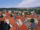 Schlitz, Hessen, Germany Impressão fotográfica por Hans Peter Merten