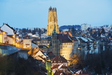 The 13th Century Gothic Church, St. Nicolas Cathedral, Fribourg, Switzerland, Europe Photographic Print by Christian Kober