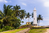 Galle Lighthouse in the Old Town of Galle, UNESCO World Heritage Site, Sri Lanka, Asia Reproduction photographique par Matthew Williams-Ellis