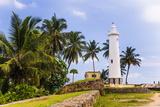 Galle Lighthouse in the Old Town of Galle, UNESCO World Heritage Site, Sri Lanka, Asia Fotografisk trykk av Matthew Williams-Ellis