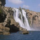 Lower Duden Falls, Antalya, Anatolia, Turkey, Asia Minor, Eurasia Photographic Print by Rolf Richardson