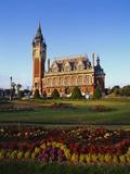 City Hall, Calais, Pas De Calais, Picardy, France Impressão fotográfica por Hans Peter Merten