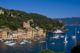 Portofino, Riviera Di Levante, Liguria, Italy, Europe Reproduction photographique par Charles Bowman