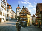 Rothenburg Ob Der Tauber, the Romantic Road, Bavaria, Germany, Europe Photographic Print by Gavin Hellier