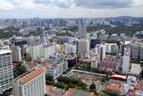 Cityscape, Singapore, Southeast Asia, Asia Photographic Print by Balan Madhavan