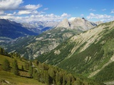 Mercantour National Park, Alpes-Haute-Provence, France Photographic Print by David Hughes