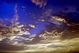 Colourful Clouds at Dusk, Kerala, India, Asia Photographic Print by Balan Madhavan
