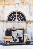 Tuktuk in the Old Town of Galle, UNESCO World Heritage Site on the South Coast of Sri Lanka, Asia Photographic Print by Matthew Williams-Ellis