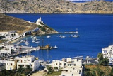 Aerial View of Yialos, Ios, Cyclades, Greece Photographic Print by Richard Ashworth