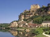 Beynac, Aquitaine, Dordogne, France Reproduction photographique par Michael Busselle