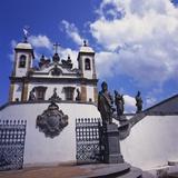 Basilica Do Bom Jesus De Matosinhos, Congonhas, Minas Gerais, Brazil Photographic Print by Geoff Renner