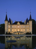 Chateau Pichon Longueville, Bordeaux, France Reproduction photographique par Michael Busselle