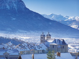 Briancon, Hautes-Alpes, France Photographic Print by John Miller