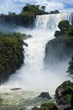 The Iguazu Waterfalls, Iguazu National Park, UNESCO World Heritage Site, Argentina, South America Fotografisk trykk av Michael Runkel