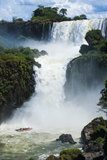 The Iguazu Waterfalls, Iguazu National Park, UNESCO World Heritage Site, Argentina, South America Photographic Print by Michael Runkel