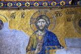 Mosaic of Jesus Christ Fotografisk trykk av Neil Farrin