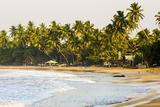 Mirissa Beach at Sunset, South Coast, Southern Province, Sri Lanka, Asia Reproduction photographique par Matthew Williams-Ellis