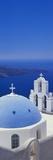 Thira, Santorini, Greek Islands, Europe Fotografisk tryk af Lee Frost
