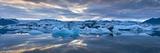 Jokulsarlon, South Iceland, Polar Regions Fotografisk tryk af Ben Pipe