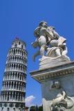 Leaning Tower of Pisa, Pisa, Italy Impressão fotográfica por Hans Peter Merten
