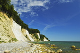 Chalk Cliffs, Jasmund National Park, Ruegen Island (Rugen Island) Photographic Print by Jochen Schlenker