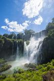 Foz De Iguazu (Iguacu Falls) Fotografisk trykk av Michael Runkel