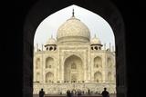Taj Mahal, UNESCO World Heritage Site, Agra, Uttar Pradesh, India, Asia Photographic Print by Balan Madhavan