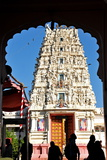 Hindu Temple Dedicated to Krishna, Pushkar, Rajasthan, India, Asia Reproduction photographique par  Godong
