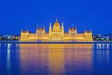 Hungarian Parliament Building Fotografie-Druck von Christian Kober
