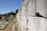 The Polygonal Wall, a Retaining Wall Built after the Destruction of the Old Apollo Temple in 548 Bc Reproduction photographique par Jean-Pierre De Mann