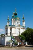 St. Andrew's Church, Kiev, Ukraine, Europe Photographic Print by Bruno Morandi