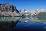 Bow Lake, Rocky Mountains, Banff National Park, Alberta, Canada Impressão fotográfica por Hans Peter Merten