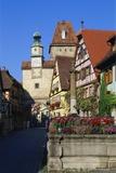 Rothenburg Ob Der Tauber, Germany, Europe Impressão fotográfica por Hans Peter Merten