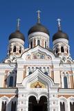Facade of the Alexander Nevsky Church, Tallinn, Estonia, Europe Photographic Print by Doug Pearson