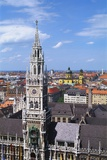 City Hall, Marienplatz, Bavaria, Germany, Europe Photographic Print by Hans Peter Merten